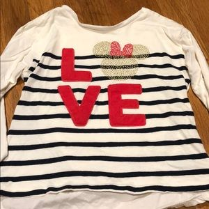 Gap Toddler Girls Minnie Mouse Tunic Shirt